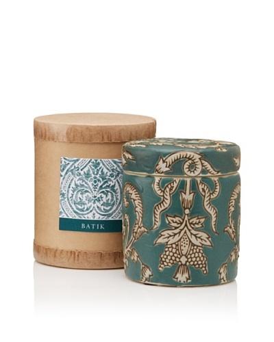 Scented Candle Jar in Gift Box, Batik, 10-Oz.