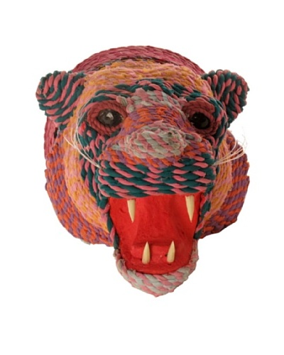 Rag String Lion Head