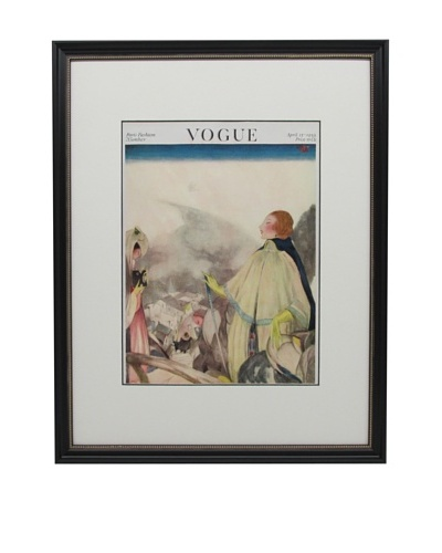 Original Vogue Cover from 1922 by Henry Sutter