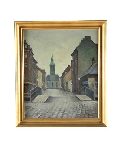 City Center, Einar Gross Framed Artwork