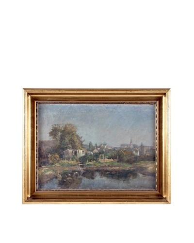 R. Westphal Landscape, 1910 Framed Artwork