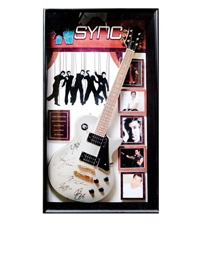 Signed NSYNC Guitar