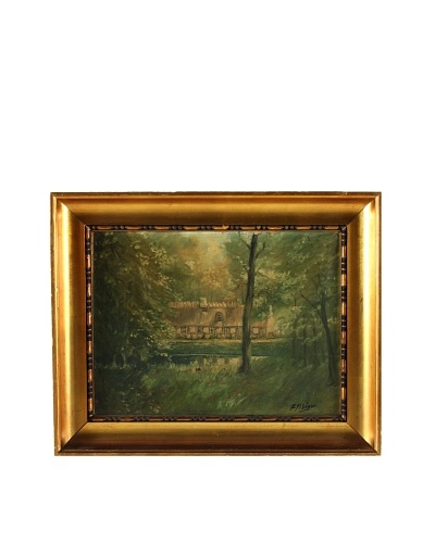 French Cottage Framed Artwork