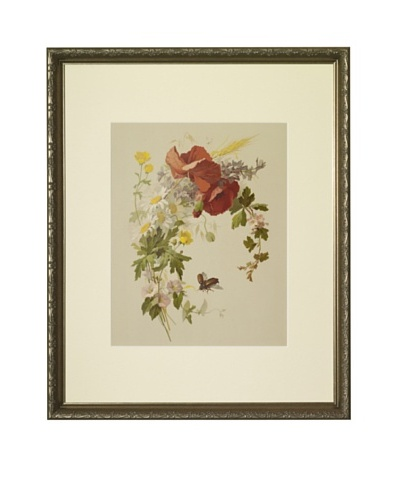 1880s Buttercups Floral Spray