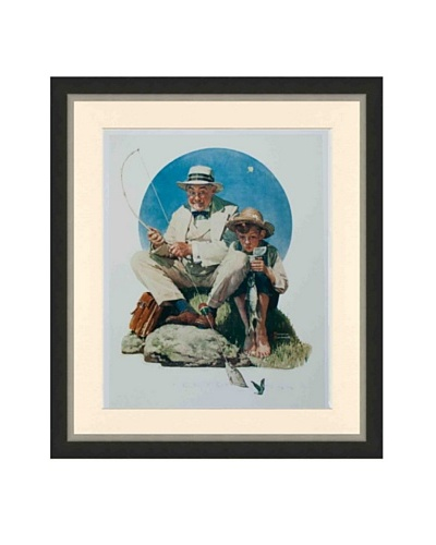 Norman Rockwell, Catching the Big One