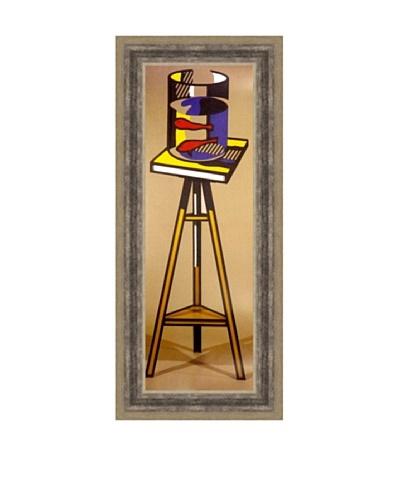 Roy Lichtenstein: Gold Fish Bowl on Table