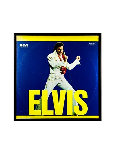 Elvis Presley: Elvis Framed Album CoverAs You See