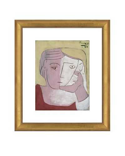 Pablo Picasso Head of a Woman, 1924 Framed Art