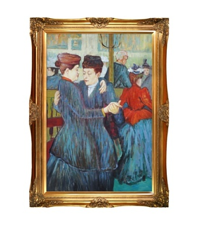 Toulouse Lautrec: At the Moulin Rouge, Two Women Waltzing, 1892As You See