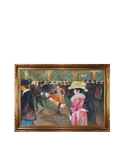 Toulouse Lautrec: At the Moulin Rouge, The Dance, 1890As You See