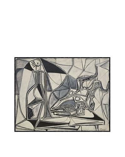 Pablo Picasso Goat's Skull, Bottle and Candle, 1952 Framed Art