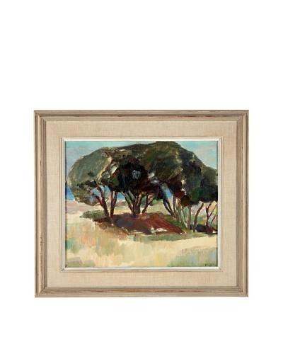 Sven Ludvig Wejstad Landscape Framed Artwork