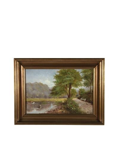 Holger Fischer Landscape Framed Artwork