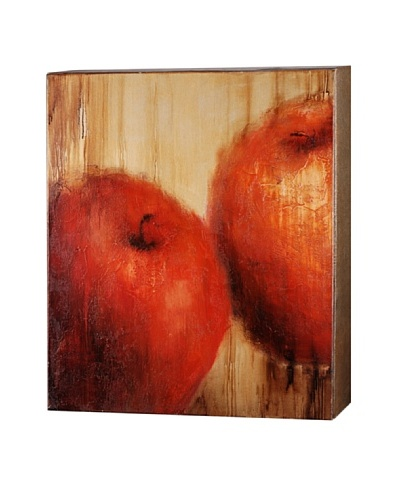 Les Pommes, Reds/Orange/Naturals