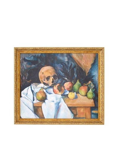 Paul Cézanne: Still Life with Skull (Nature morte au crâne), 1896-1898