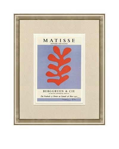 Henri Matisse: Berggruen & Cie Lithograph