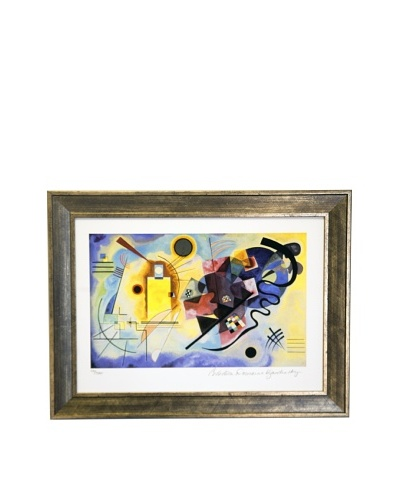 Wassily Kandinsky Yellow, Red and Blue Limited Edition Giclée