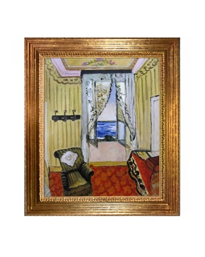 My Room at the Beau-Rivage Framed Reproduction Oil Painting by Henri Matisse