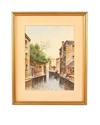 Venetian Lagoon Framed Artwork