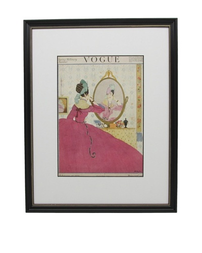 Original Vogue Cover from 1918 by Helen Dryden