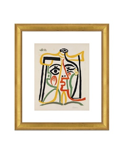 Pablo Picasso Tete de femme Framed Art