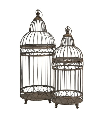 Set of 2 Verona Bird Cages