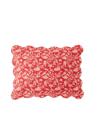 Toile Pillow Sham [Red]