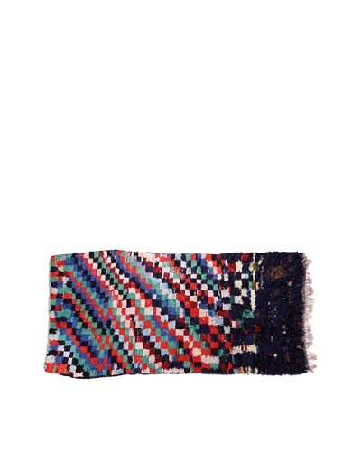 Moroccan Rag Rugs, Black Multi