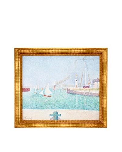 Georges Seurat: Port of Honfleur, 1886As You See