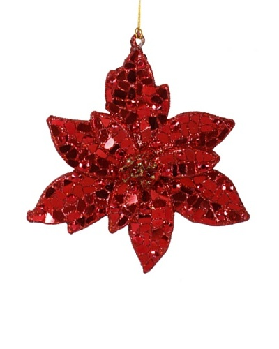 Xmas Poinsettia Ornament