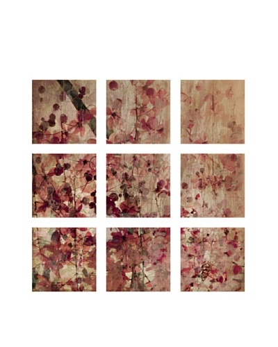 Pink Blossoms, Polyptych