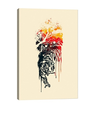 Painted Tyger by Budi Satria Kwan Giclée Canvas Print