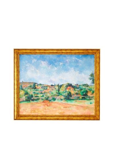 Paul Cézanne: The Bellevue Plain, also called The Red Earth (La Plaine de Bellevue, dit aussi Les Te...