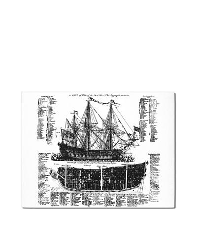 Ship Diagram, 18 x 24