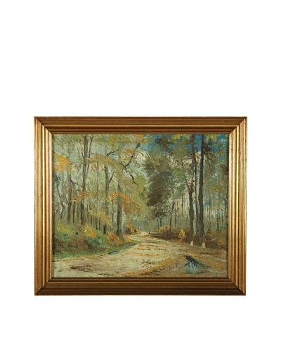 The Woods Framed Artwork