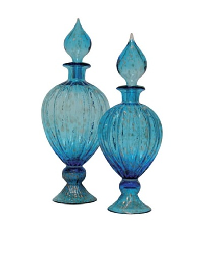 Set of 2 Safe Urns, BlueAs You See