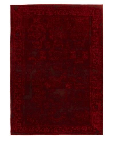"Wash Area Rug, Red, 5' 5"" x 7' 8"""