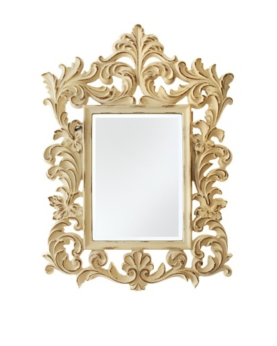 Amesbury Mirror, Off-White