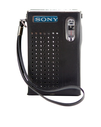 Vintage Sony Radio, Black