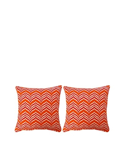 Ripple Effect Set of 2 Corded 17 Pillows