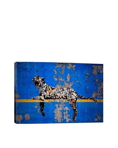 Banksy Yankee Stadium Tiger Canvas Print