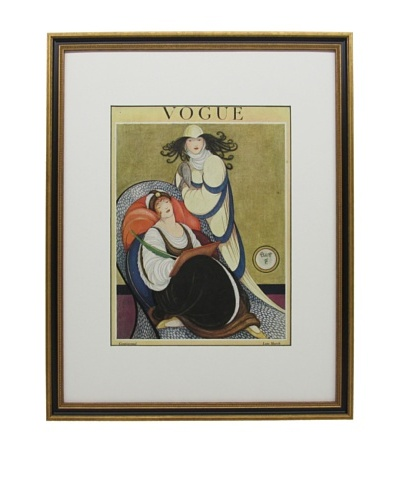 Original Vogue Cover from 1918 by George Wolfe Plank