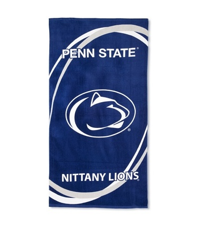Penn State Nittany Lions Swoosh Towel, Dark Blue