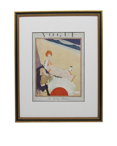 Original Vogue Cover from 1923 by George Wolfe Plank