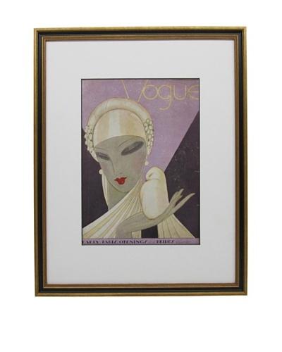 Original Vogue Cover from 1927 by Eduardo Garcia Benito