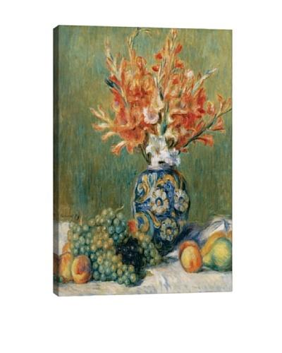 Pierre-Auguste Renoir's Nature Morte, Fleurs Et Fruits (1889) Giclée Canvas Print
