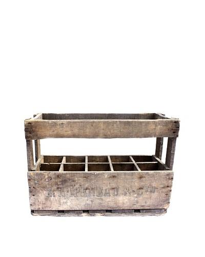 Vintage Wine Crate E. Rapeneau & cie