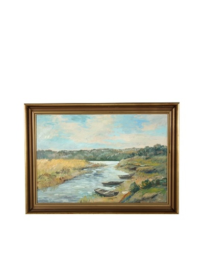 Rowboats Framed Artwork