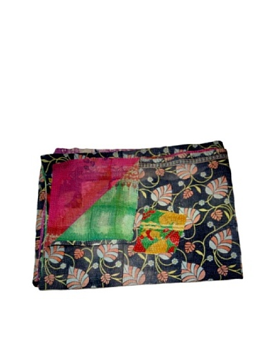 "Vintage Kantha Throw Gowri, Multi, 60"" x 90"""