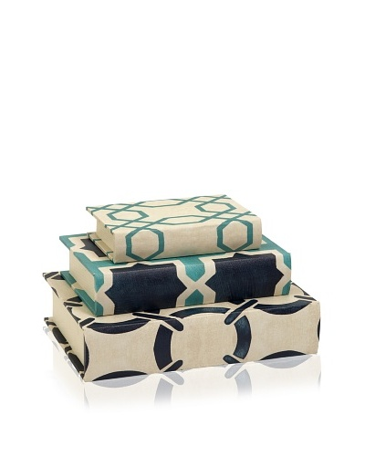 Set of 3 Hadley Book Boxes